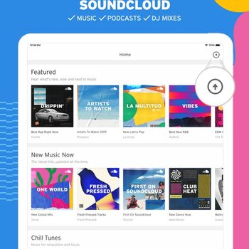 SoundCloud - Music & Audio ipad image 1