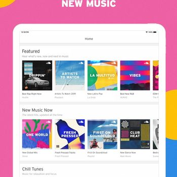 SoundCloud - Music & Audio ipad image 2