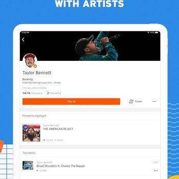SoundCloud - Music & Audio ipad image 4
