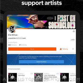SoundCloud - Music & Songs ipad image 4