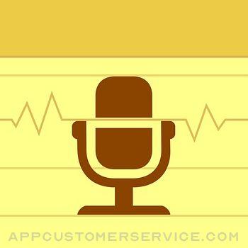 Audio Memos Customer Service