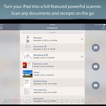 TurboScan™ Pro: PDF scanner ipad image 1