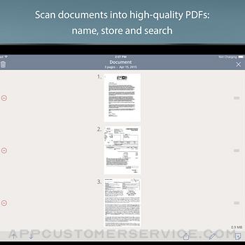 TurboScan™ Pro: PDF scanner ipad image 3