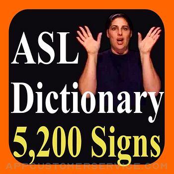 ASL Dictionary Customer Service