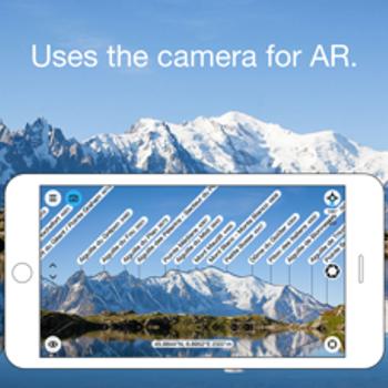 PeakFinder AR iphone image 1