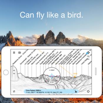 PeakFinder AR iphone image 4