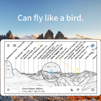 PeakFinder iphone image 4