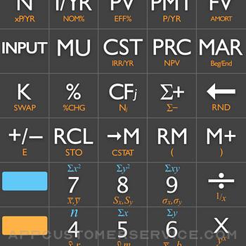 10bii Financial Calculator iphone image 1