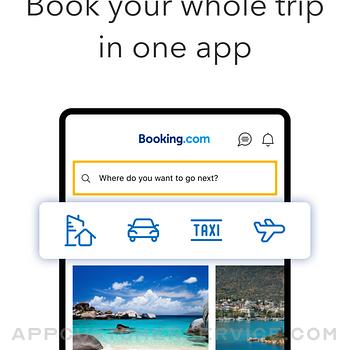 Booking.com: Hotels & Travel ipad image 1