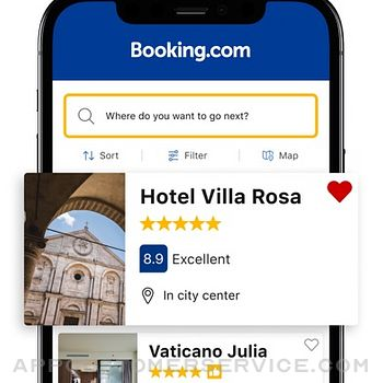 Booking.com: Hotels & Travel iphone image 2