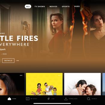Hulu: Stream movies & TV shows ipad image 1