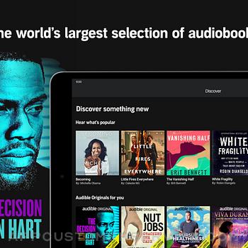 Audible audiobooks & podcasts ipad image 1
