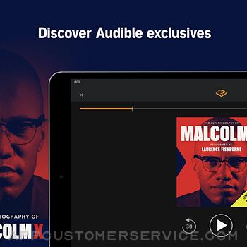 Audible audiobooks & podcasts ipad image 2