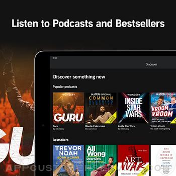 Audible audiobooks & podcasts ipad image 3
