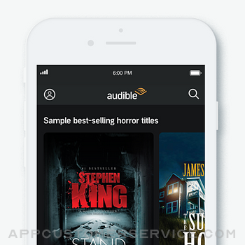 Audible audiobooks & podcasts iphone image 4