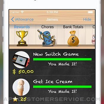 IAllowance (Chores Allowances) iphone image 4