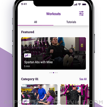 Planet Fitness Workouts iphone image 3