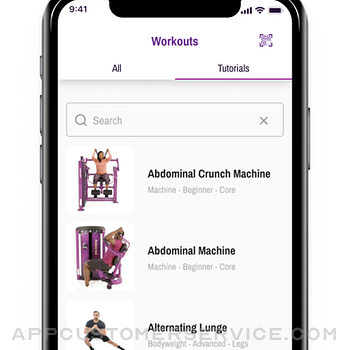 Planet Fitness Workouts iphone image 4