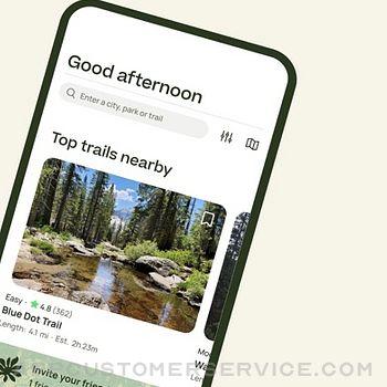 AllTrails: Hike, Bike & Run iphone image 2