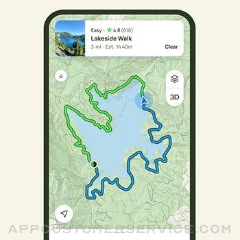 AllTrails: Hike, Bike & Run iphone image 3
