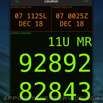MilGPS iphone image 2