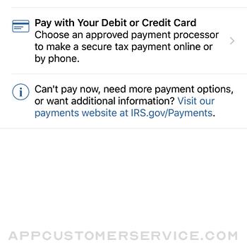 IRS2Go iphone image 2
