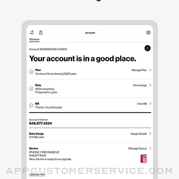 My Verizon ipad image 2