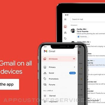Gmail - Email by Google ipad image 2