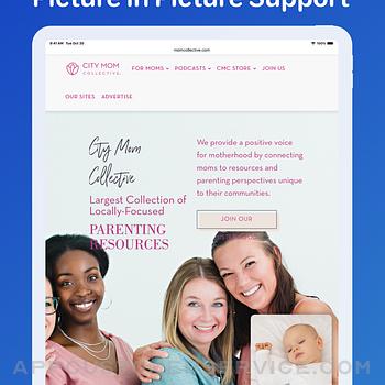 Cloud Baby Monitor ipad image 3