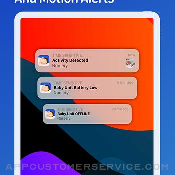 Cloud Baby Monitor ipad image 4