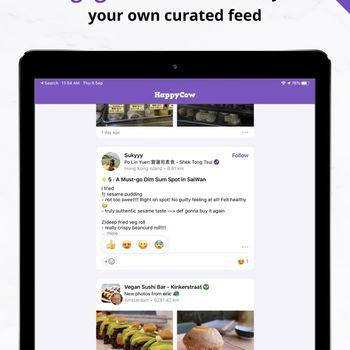 Vegan Food Near You - HappyCow ipad image 2