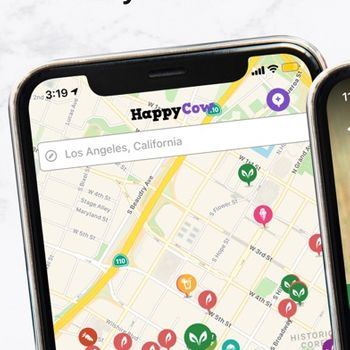 Vegan Food Near You - HappyCow iphone image 3