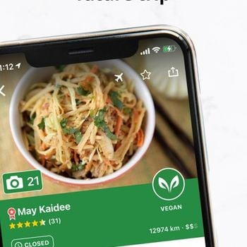 Vegan Food Near You - HappyCow iphone image 4