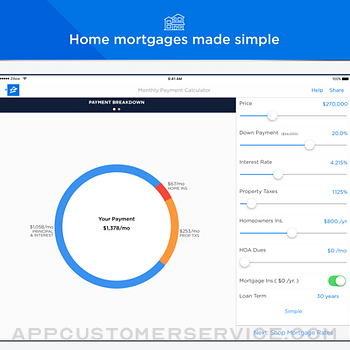 Mortgage by Zillow ipad image 1