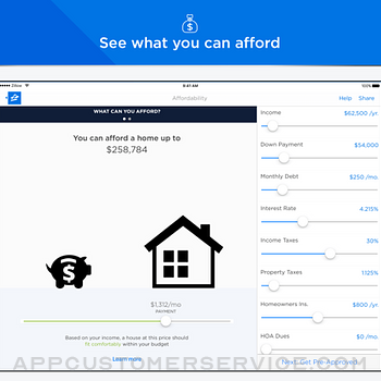 Mortgage by Zillow ipad image 2
