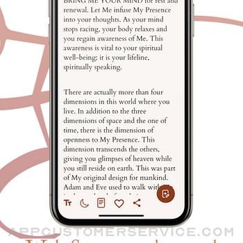 Jesus Calling Devotional iphone image 2