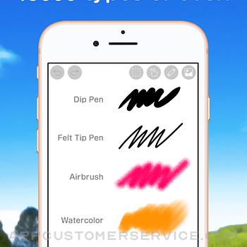 Ibis Paint X iphone image 2