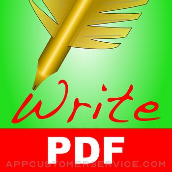 WritePDF for iPhone Customer Service