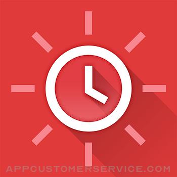 Red Clock. Customer Service