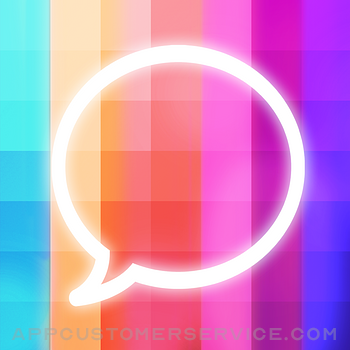 Message Makeover - Colorful Text Message Bubbles Customer Service