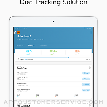 My Macros+   Diet & Calories ipad image 1