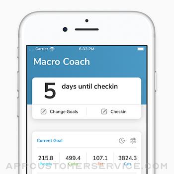 My Macros+   Diet & Calories iphone image 3