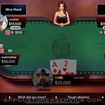 Poker Heat: Texas Holdem Poker iphone image 1