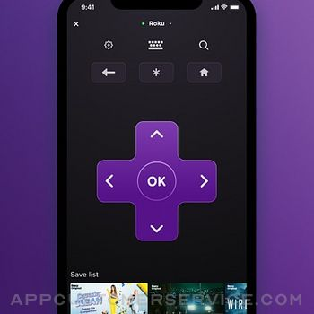 Roku - Official Remote Control iphone image 1