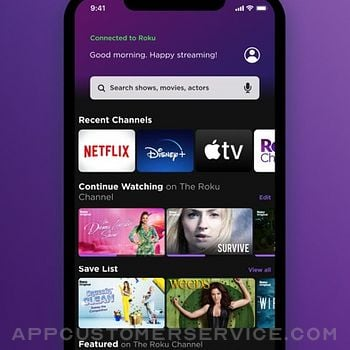 Roku - Official Remote Control iphone image 3