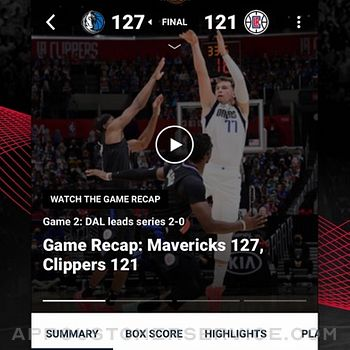 NBA: Live Games & Scores iphone image 3