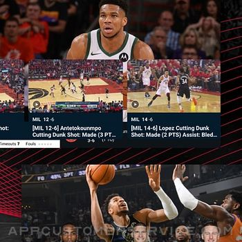 NBA: Live Games & Scores iphone image 4