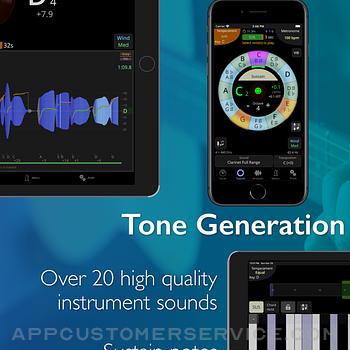 TonalEnergy Tuner & Metronome ipad image 3