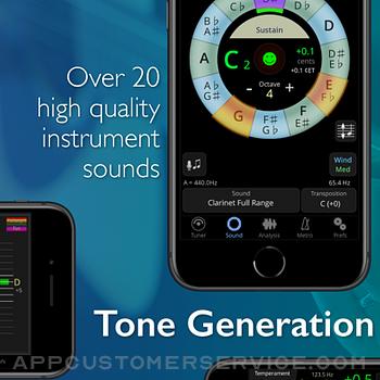 TonalEnergy Tuner & Metronome iphone image 3