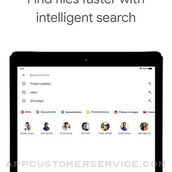 Google Drive ipad image 3